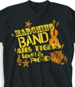 School Band Shirts - Midway Madness clas-950m4
