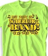 School Band Shirts - Sweet Skills clas-680s7