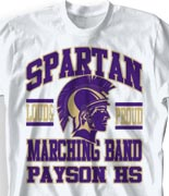 School Band Shirts - Few and Proud desn-491g3