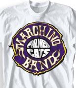 School Band Shirts - Ring-O-Fire clas-111s6