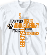 School Spirit T Shirt Design Ideas elementary designs School Spirit T Shirt Random Words Desn 268w7