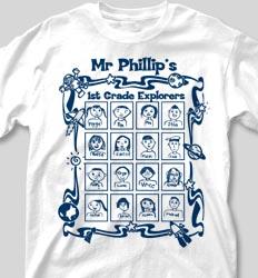 Self Portrait Shirts - Classroom Faces cool-133c8