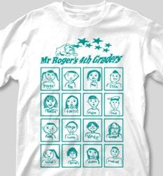 Self Portrait Shirts - Classroom Faces cool-133c7