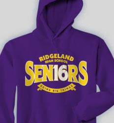 Senior Hooded Sweatshirt - Big Deal cool-124b2