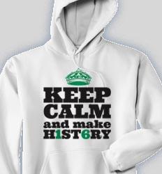 Senior Hooded Sweatshirt - Keep Calmer cool-144k1