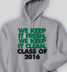 Senior Hooded Sweatshirt - Just That Good clas-860a5