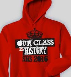 Senior Hooded Sweatshirt - Crown Billboard cool-158c1