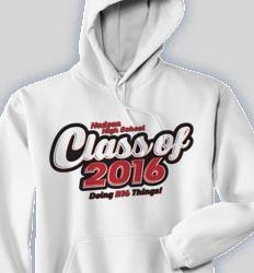 Spirit Hooded Sweatshirt - Class Script  cool-129c1
