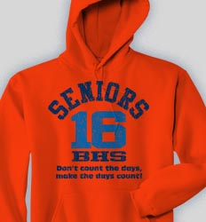 Senior Hooded Sweatshirt - Acid Wash  clas-524e4