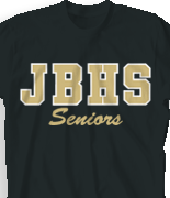 Senior T Shirt - Athletic