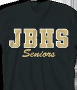 School Spirit T Shirt - School Block desn-211s1