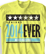 Senior Class T Shirt - Succeed desn-498s1