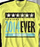 Senior Class T Shirt - Campaign desn-724c1