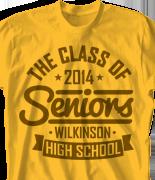 Senior Class T Shirt - Our Mark desn-740o1