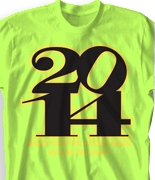 Senior Class T Shirt - Brave Year desn-647b4
