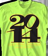 Senior Class T Shirt - Brave Year desn-647b4