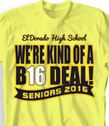 Senior Class T Shirt - Election desn-763e8