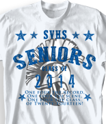 Senior Class T Shirt - Senior Dream desn-496s1