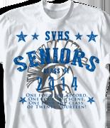 Senior Class T Shirt - Election desn-763e2