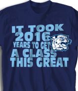 Senior Class T Shirt - Beach Walk clas-954c4
