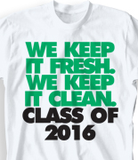 Senior Class T Shirt - Just That Good clas-860o2