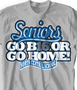 Senior Class T Shirt - Best Class Ever desn-733c8