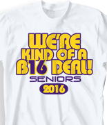 Senior Class T Shirt - Big Respect desn-548d7