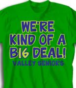 Senior Class T Shirt - Keep it Classy  logo-174k4