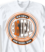 Senior Class T Shirt - Classic Racer cool-1c1