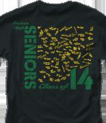 Senior Class T Shirt - Sign Square desn-544d3