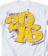 Senior Class T Shirt - Rumble Sig desn-600r6