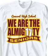 Senior Class T Shirt - B16 Deal cool-119b8