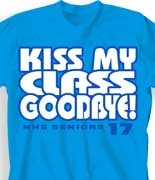 Senior Class T Shirt - Big Respect desn-548g5