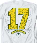 Senior Class T Shirt - Signature Spin desn-639s7