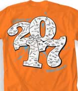 Senior Class T Shirt - Rumble Sig desn-600s1