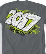 Senior Class T Shirt - Year Blast cool-10y4