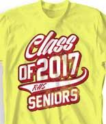 Senior Class T Shirt - Classy Class desn-726f3