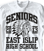Senior Class T Shirt - Few and Proud desn-491f3