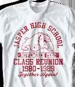 Class Reunion T Shirt - Vintage Class Reunion desn-484v1