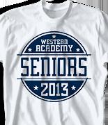 Senior Class T Shirt - Disco-Rama 126d3