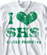 Spirit T Shirt - I Heart Vintage desn-149i4