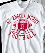 Football T Shirt - Football Jersey desn-53f2