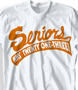 Senior Class T Shirt - Superscript clas-124x3