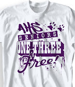 Senior Class T Shirt - Senior Dream desn-496s2