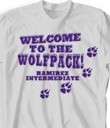 Spirit T Shirts - Bulldogs