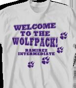 School Spirit T Shirt - Statement clas-787t8