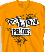 Spirit T Shirts - Cougar Power