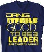 Student Council T-Shirt Design - Dang desn-289d2