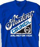 Student Council T-Shirt Design  - Council Member desn-919c1