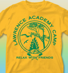 Summer Camp Shirt Design - Ivy League Crest clas-825i5